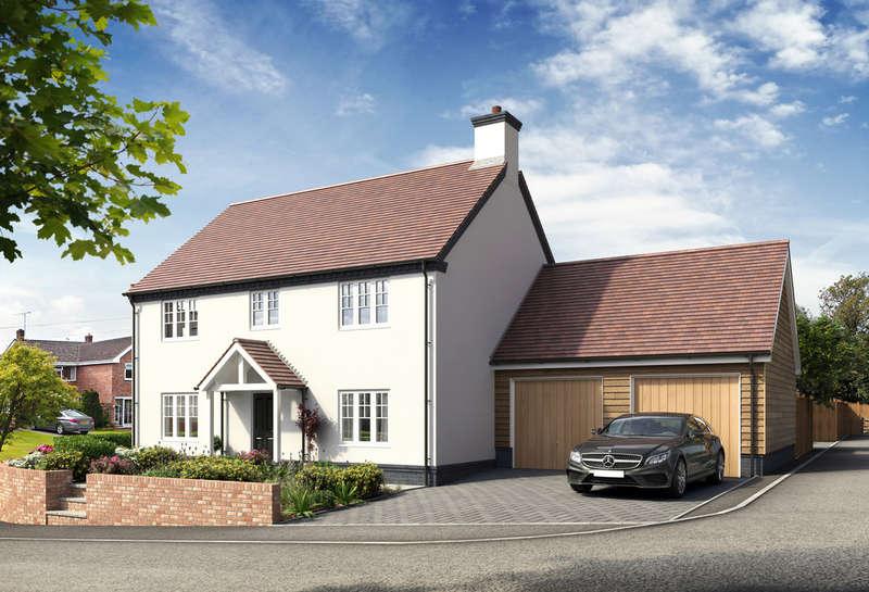 4 Bedrooms Detached House for sale in Jacks Lane, Marchington
