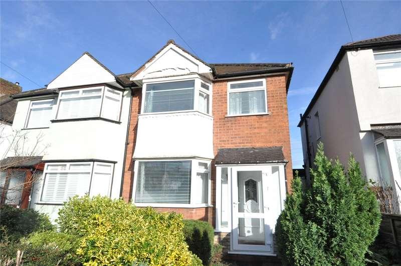 3 Bedrooms Semi Detached House for sale in Dell Road, Cotteridge, Birmingham, West Midlands, B30