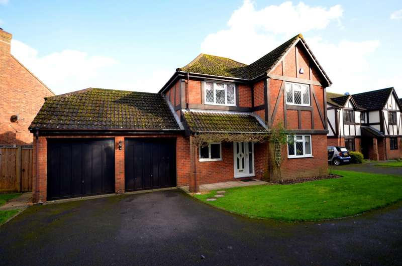 4 Bedrooms Detached House for sale in Kestrel Close, Boorley Green, Botley, Southampton, SO32