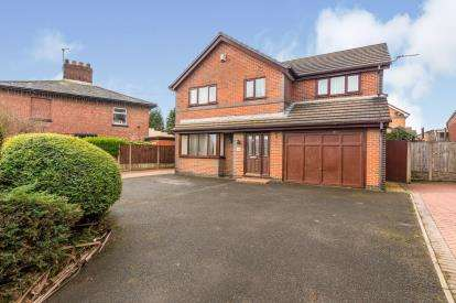 4 Bedrooms Detached House for sale in Crow Lane West, Newton Le Willows, Merseyside, .