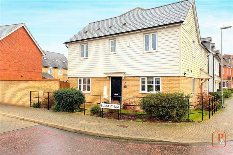 3 Bedrooms Semi Detached House for sale in Lungley Rise, Colchester
