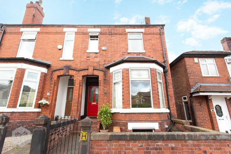 4 Bedrooms End Of Terrace House for sale in Alfred Street, Eccles, Manchester, M30
