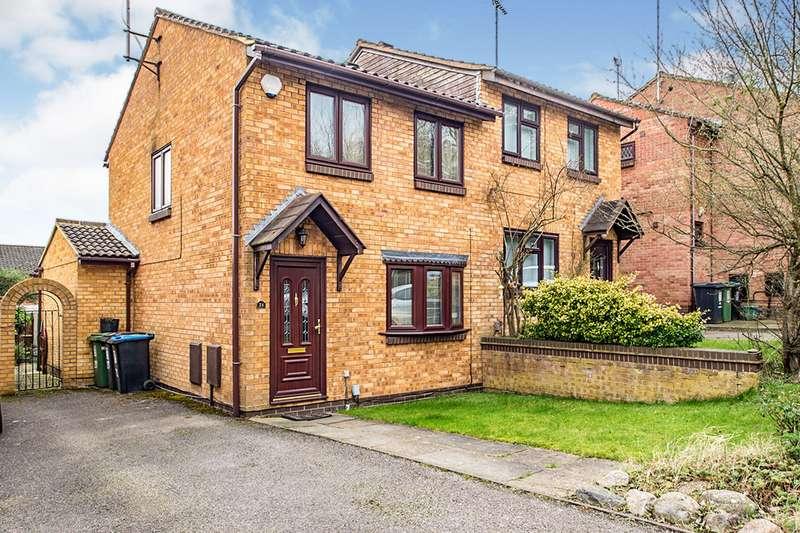 2 Bedrooms Semi Detached House for sale in Half Moon Meadow, Hunters Oak,, Hemel Hempstead, Hertfordshire, HP2