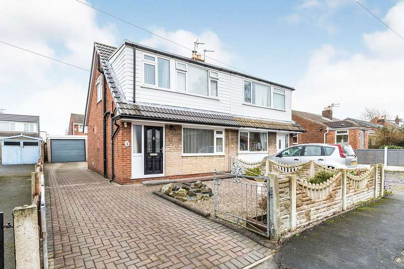 3 Bedrooms Semi Detached House for sale in Knowsley Close, Hoghton, Preston, PR5