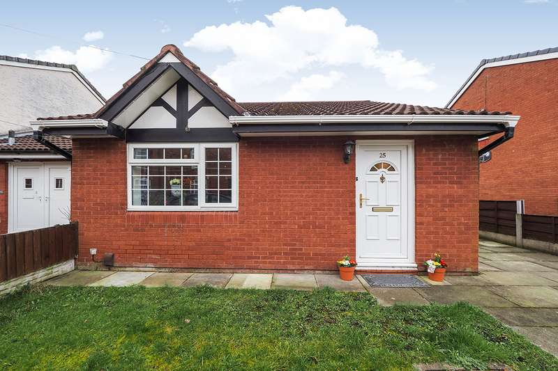 2 Bedrooms Semi Detached Bungalow for sale in Whittaker Street, Radcliffe, Manchester, Greater Manchester, M26