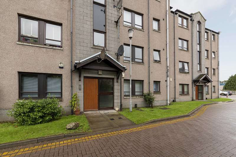 2 Bedrooms Ground Flat for sale in Canal Place, Aberdeen, AB24 3HG