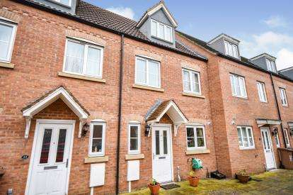 3 Bedrooms Terraced House for sale in Anchor Close, Lincoln, Lincolnshire