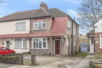 3 Bedrooms Semi Detached House for sale in Widmore Lodge Road, Bromley