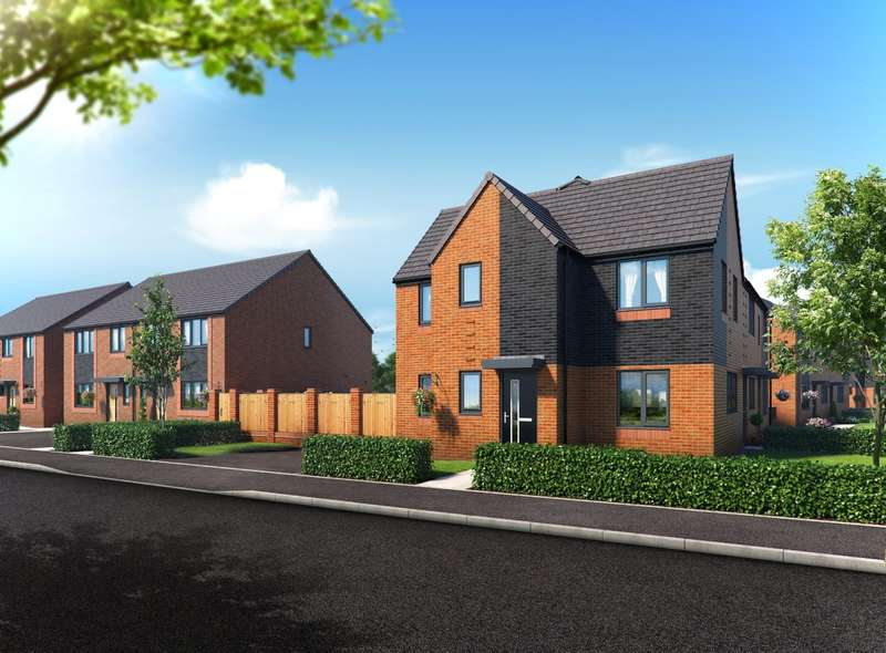 3 Bedrooms Semi Detached House for sale in Riverbank View, The Kepwick, Charlestown, Salford