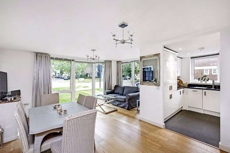 2 Bedrooms Flat for sale in Clarence Avenue, Clapham, London
