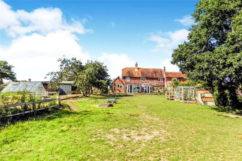 2 Bedrooms Semi Detached House for sale in Chalvington Road, Golden Cross, East Sussex, BN27