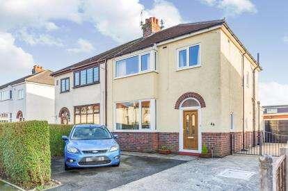3 Bedrooms Semi Detached House for sale in Beech Drive, Fulwood, Preston, Lancashire, PR2