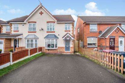 3 Bedrooms Semi Detached House for sale in Riesling Drive, Kirkby, Liverpool, Merseyside, L33