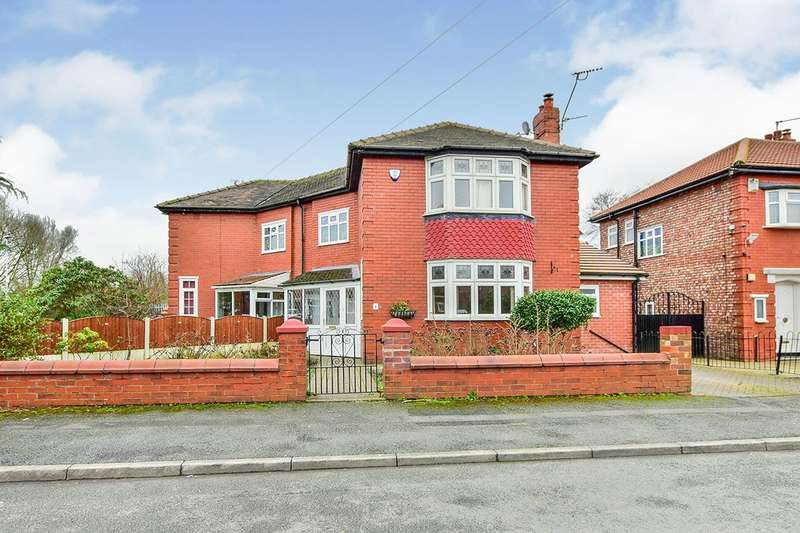 3 Bedrooms Semi Detached House for sale in Whitebrook Road, Fallowfield, Manchester, M14