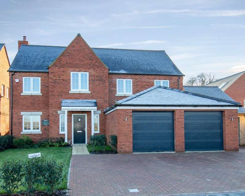 5 Bedrooms Detached House for sale in Danes Green, Silsoe
