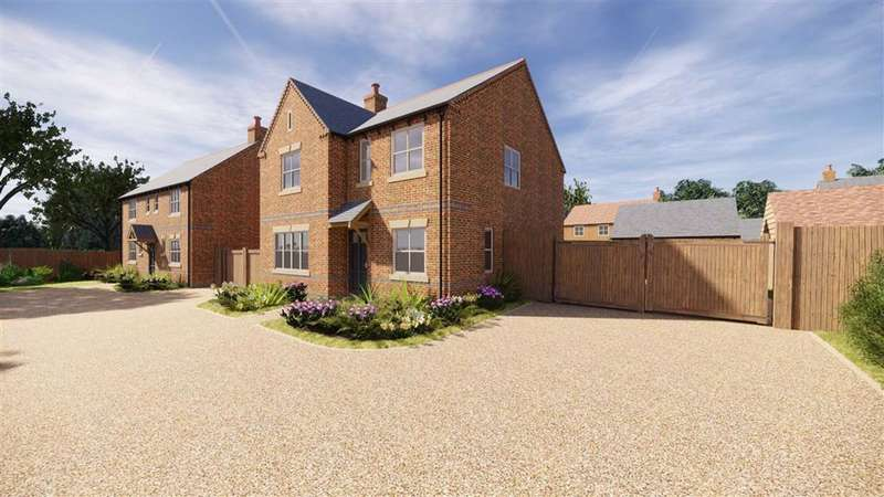 4 Bedrooms Detached House for sale in Glebe View, Off Middle Street, Foxton, Market Harborough