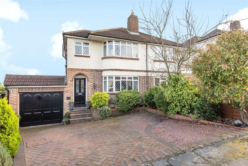4 Bedrooms Semi Detached House for sale in Beechcroft Avenue, Croxley Green, Rickmansworth, Hertfordshire, WD3