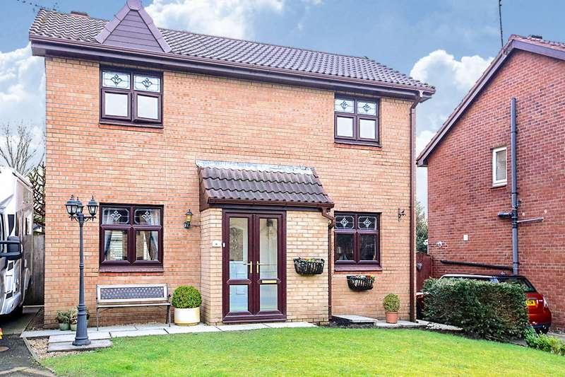 3 Bedrooms Detached House for sale in Deepdale Close, Reddish Vale, Stockport, SK5