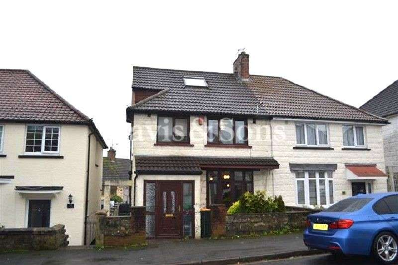 3 Bedrooms Semi Detached House for sale in Gaer Park Road, Newport, Gwent. NP20 3NJ