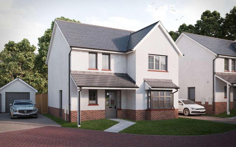 4 Bedrooms Detached House for sale in The Charles, Colman Vale, Pen-Y-Fai, Bridgend, Bridgend County Borough, CF31 4BX