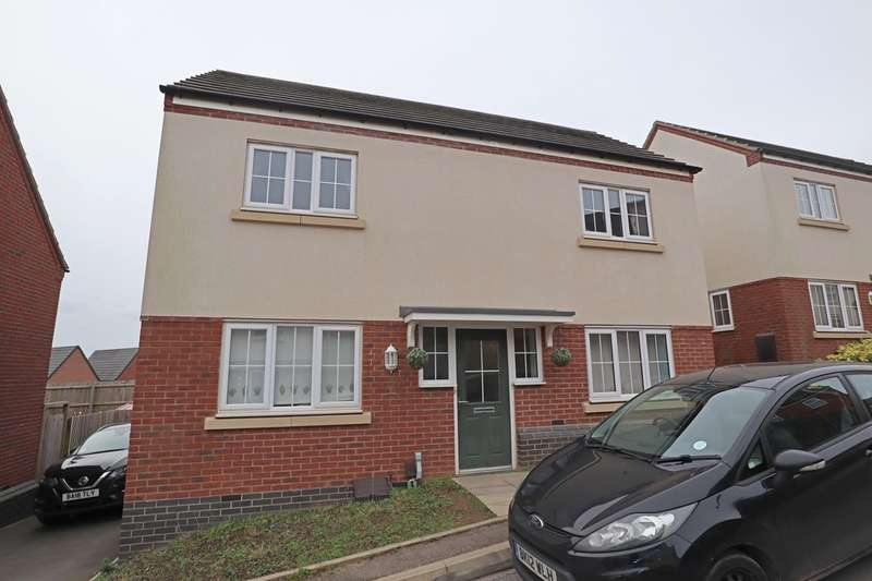 3 Bedrooms Detached House for sale in Blue Brick Lane, Nuneaton, CV10