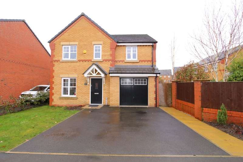 4 Bedrooms Detached House for sale in Waterhouses Street, Audenshaw, Manchester, M34