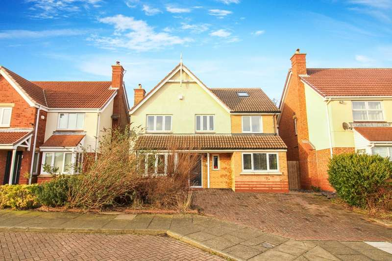 4 Bedrooms Detached House for sale in Northlands, North Shields