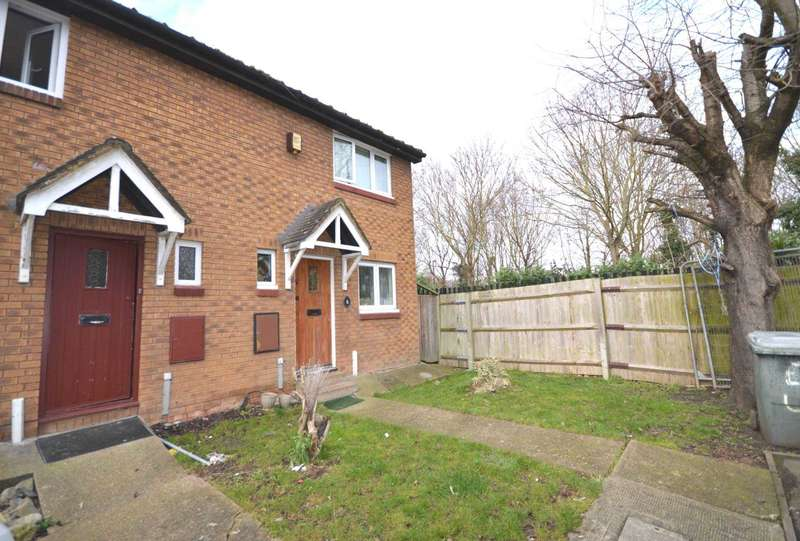 3 Bedrooms End Of Terrace House for sale in Exeter Close, London