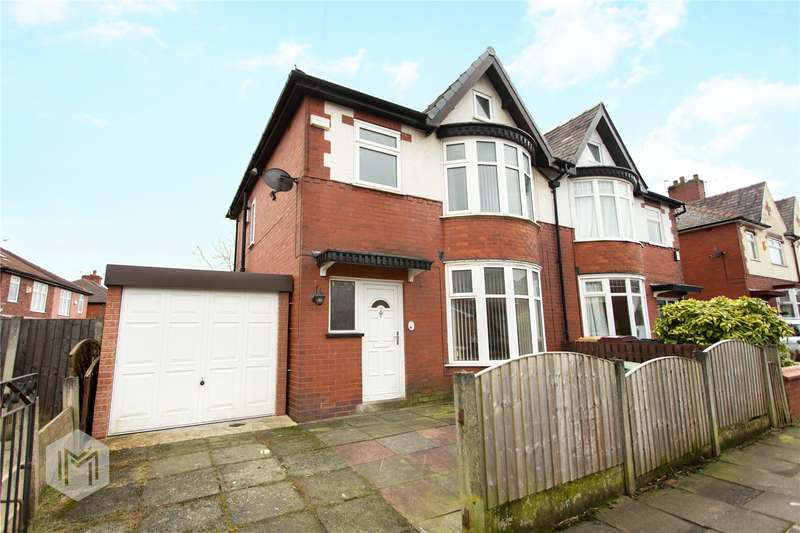 3 Bedrooms Semi Detached House for sale in Turner Bridge Road, Bolton, Greater Manchester, BL2