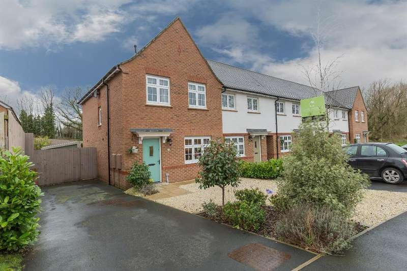 3 Bedrooms End Of Terrace House for sale in Clematis Drive, Garstang, PR3 1QZ