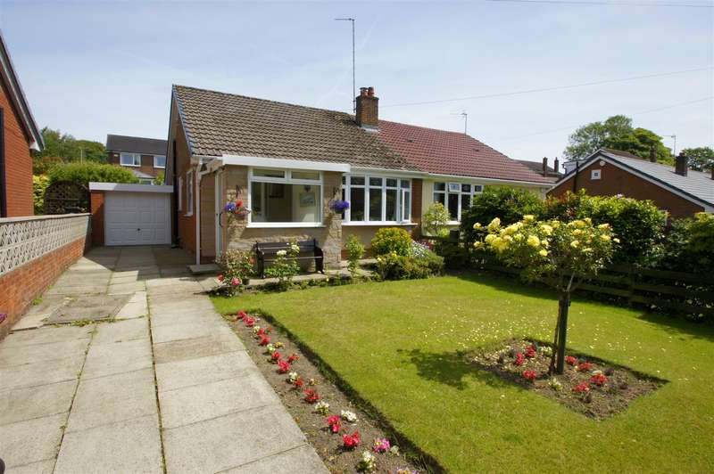 2 Bedrooms Semi Detached Bungalow for sale in Medway Close, Horwich