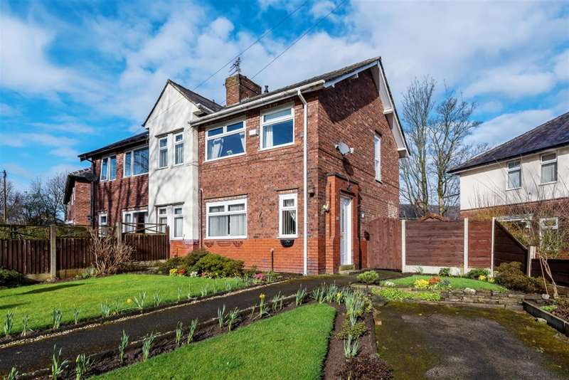 3 Bedrooms Semi Detached House for sale in Hilton Crescent, Worsley, Manchester, M28 1FY