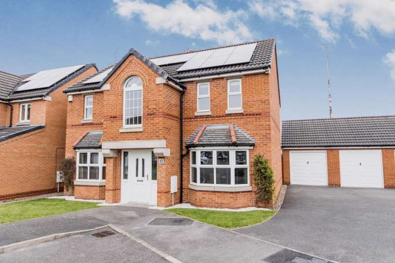 4 Bedrooms Detached House for sale in Lotus Court, North Hykeham, Lincoln, Lincolnshire, LN6