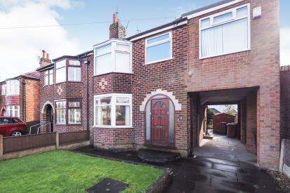4 Bedrooms Semi Detached House for sale in Ellesmere Street, Swinton, Manchester, Greater Manchester