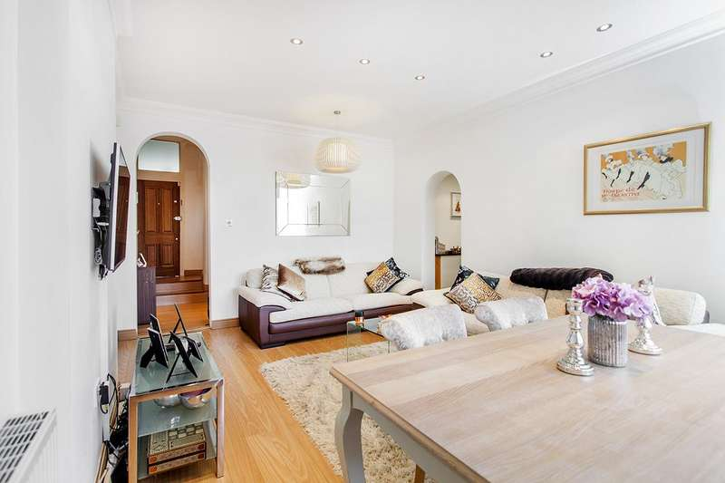 2 Bedrooms Flat for sale in Dollis Park, N3