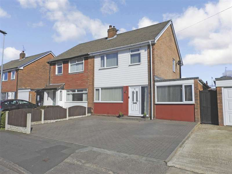 3 Bedrooms Semi Detached House for sale in Meadowcroft Road, Leyland