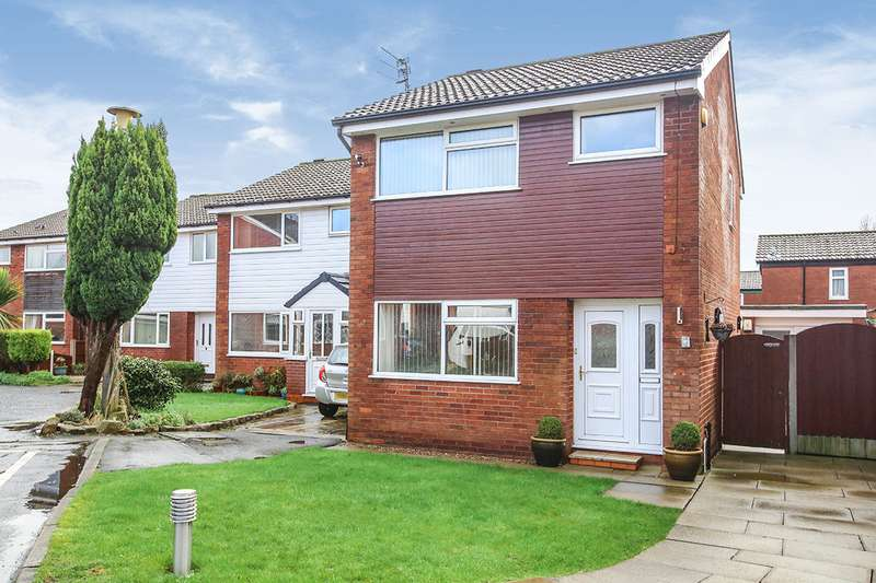 3 Bedrooms Detached House for sale in Ryland Close, Reddish, Stockport, Cheshire, SK5