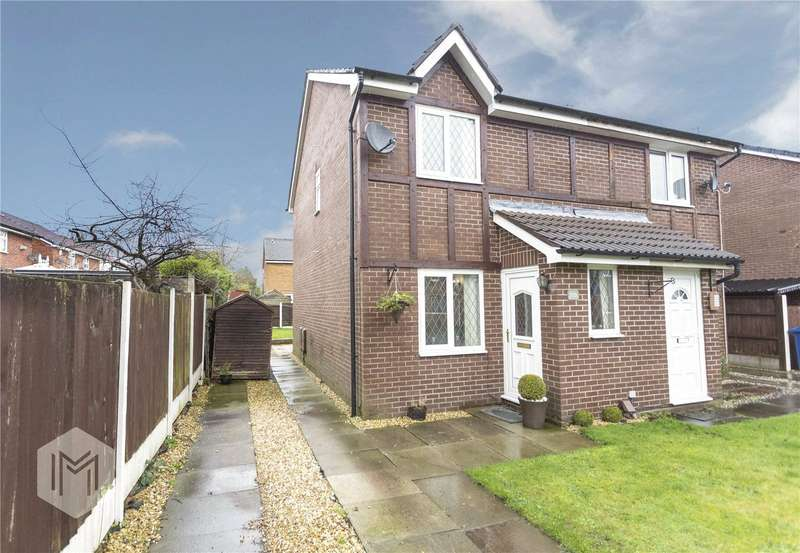 2 Bedrooms Semi Detached House for sale in Whitefield Road, Bury, Greater Manchester, BL9