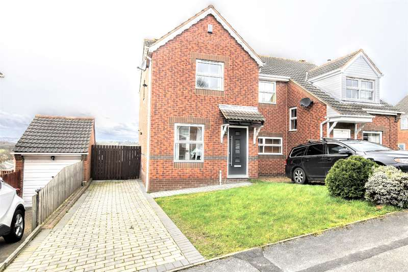2 Bedrooms Semi Detached House for sale in Quarry Bank Close, Cudworth, Barnsley, S72 8BJ
