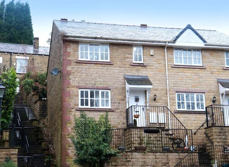 3 Bedrooms Semi Detached House for sale in St. Thomas Court, Upholland, Lancashire, WN8