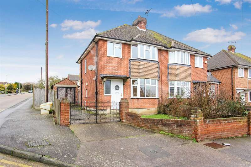 3 Bedrooms Semi Detached House for sale in Hillside Avenue, Canterbury