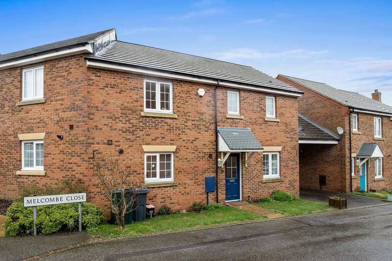 3 Bedrooms Semi Detached House for sale in Melcombe Close, Singleton, Ashford TN23