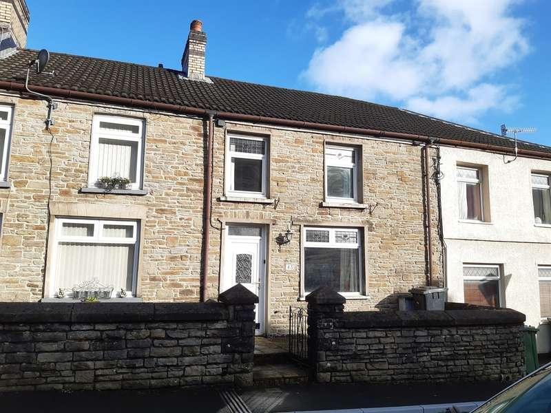 2 Bedrooms Terraced House for sale in Islwyn Street, Abercarn, Newport