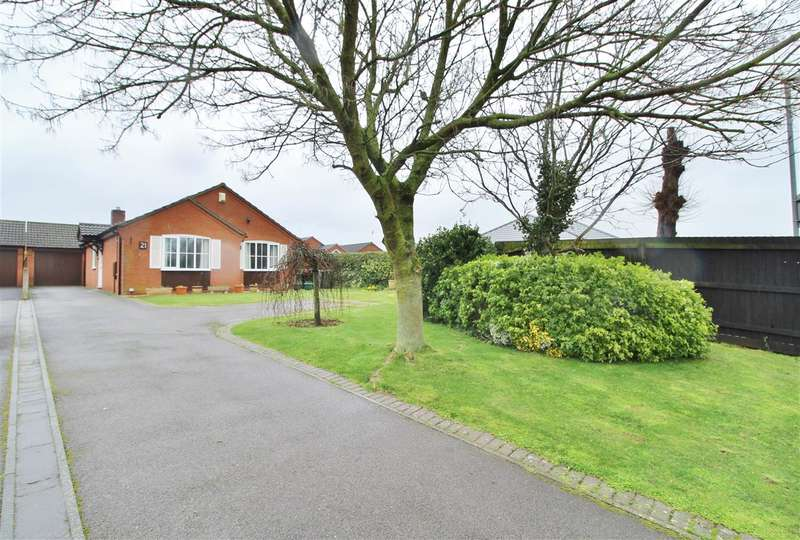 3 Bedrooms Detached Bungalow for sale in Marratts Lane, Great Gonerby, Grantham