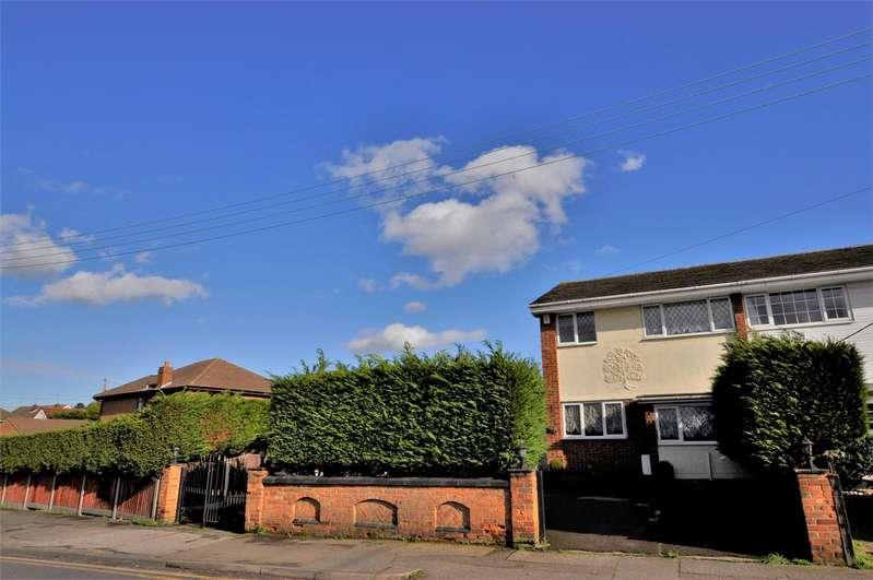 3 Bedrooms Semi Detached House for sale in Kents Hill Road, Benfleet