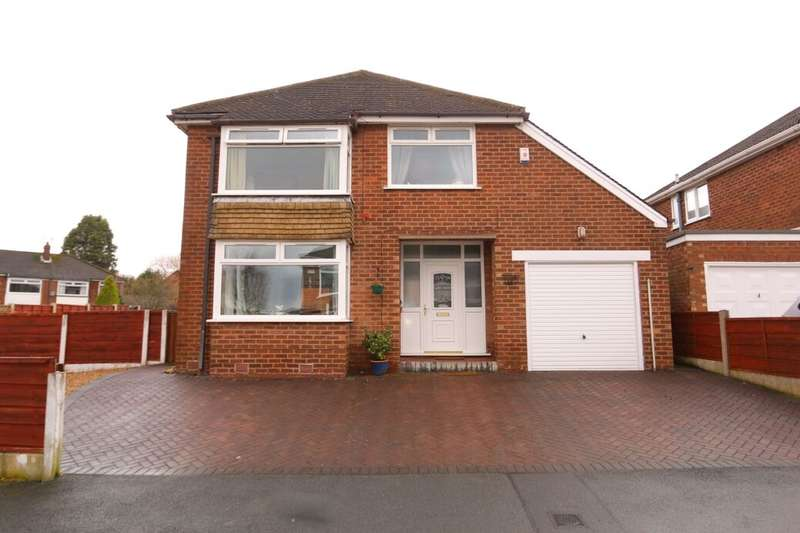 3 Bedrooms Detached House for sale in Dene Brow, Denton, Manchester, M34