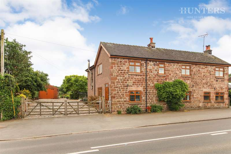 5 Bedrooms Detached House for sale in Scraggs Cottage, Cheadle Road, Cheddleton, Leek, ST13 7BQ