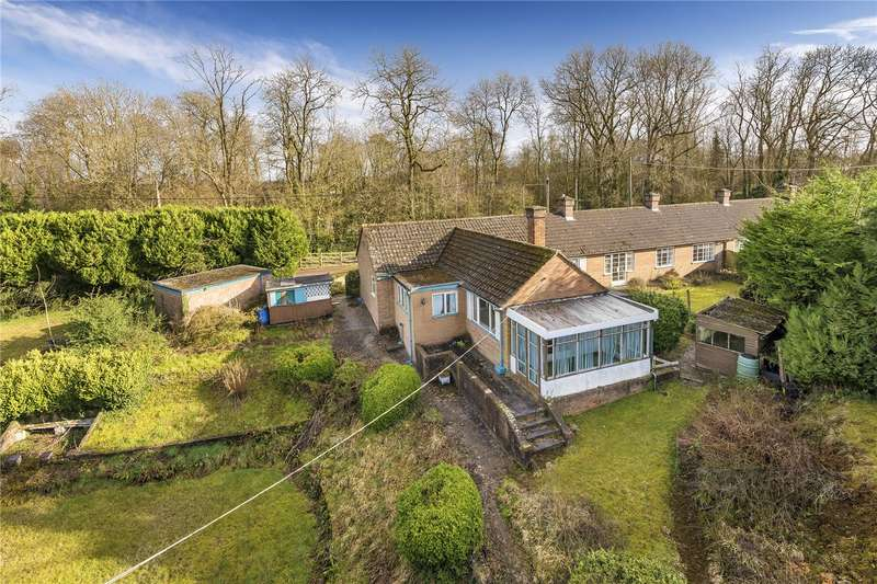 4 Bedrooms Semi Detached Bungalow for sale in Fernlea, Barrack Lane, Lilleshall, Newport, Shropshire, TF10