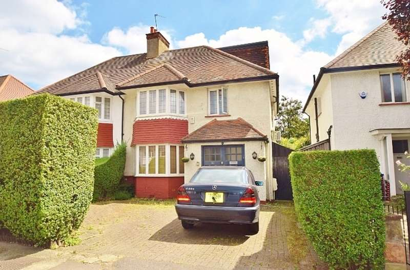 4 Bedrooms Semi Detached House for sale in The Vale, London, NW11
