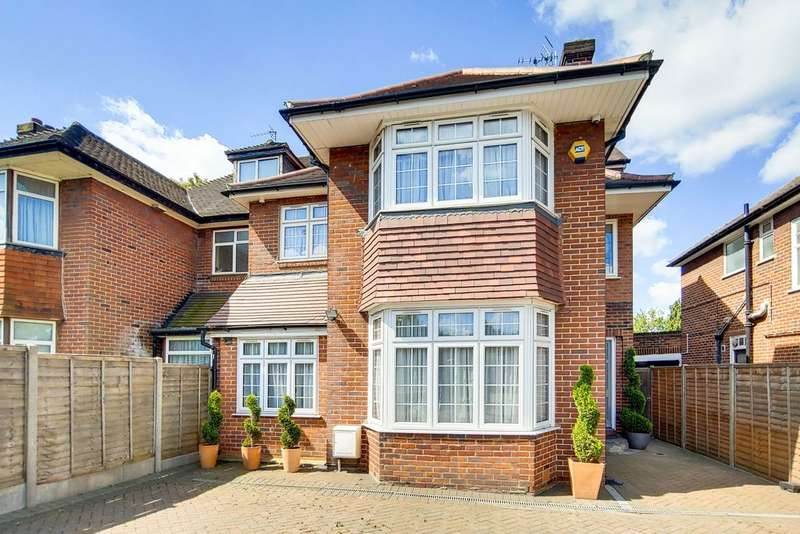 6 Bedrooms Semi Detached House for sale in HENDON WAY, GOLDERS GREEN, LONDON, NW2